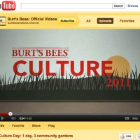 Burt's Bees You tube