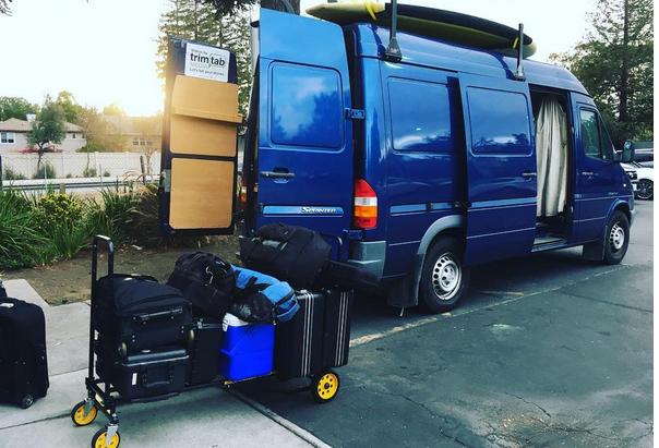 Big Blue - the production van