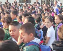 Grimmway Academy's Edible Schoolyard